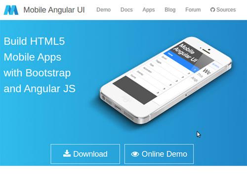 用于HTML5移动开发的10大移动APP开发框架